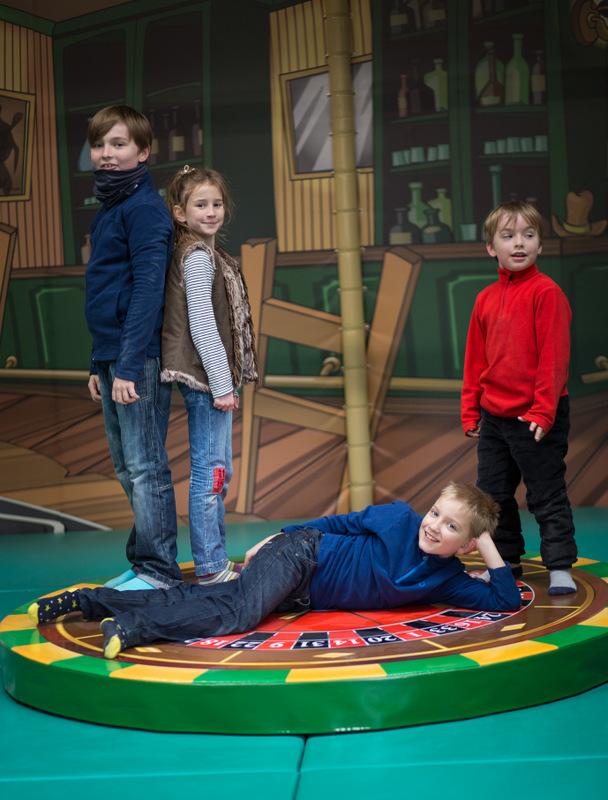 Arizona Kids Espace de Jeux pour enfants de 3 à ans - Structure